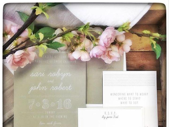 Tmx July On A Connecticut Farm 51 168523 Chappaqua, NY wedding invitation