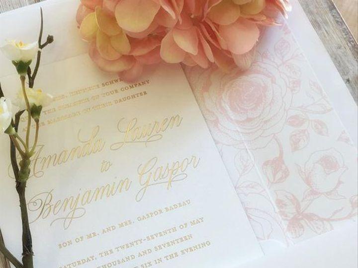 Tmx Pink Floral Invite 51 168523 V1 Chappaqua, NY wedding invitation