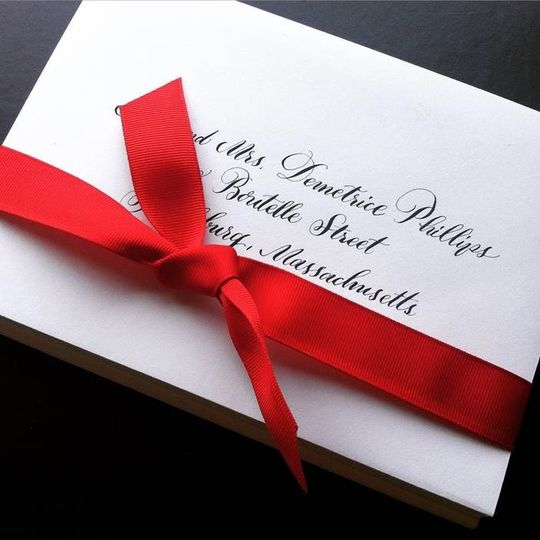 Pretty Mail Calligraphy Photos Invitations Pictures