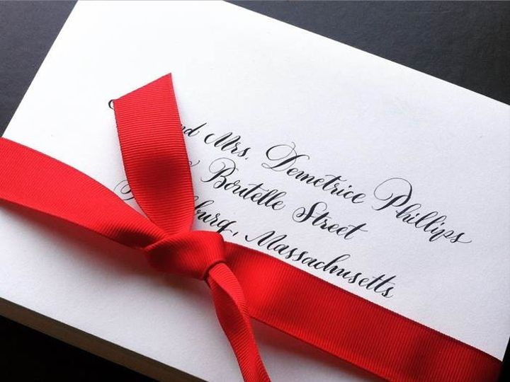 Tmx 1485258759843 Calligraphy Font Front Royal, District Of Columbia wedding invitation