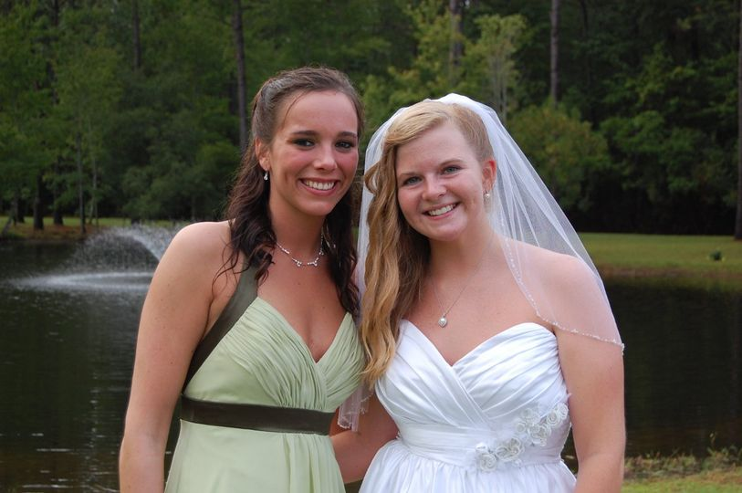 Lovely Bride and her Maid of Honor...
