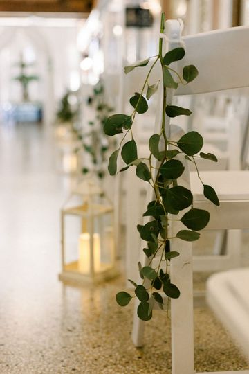 Greenery for Ceremony