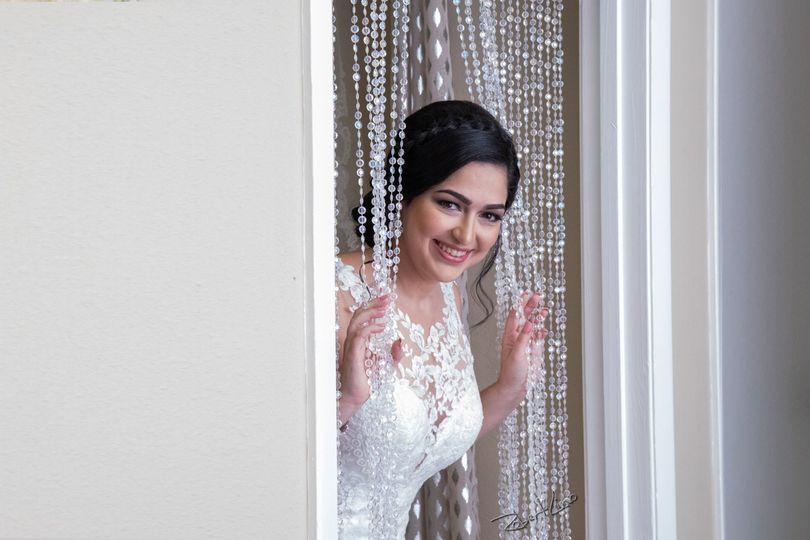 Bride in Dressing Loft