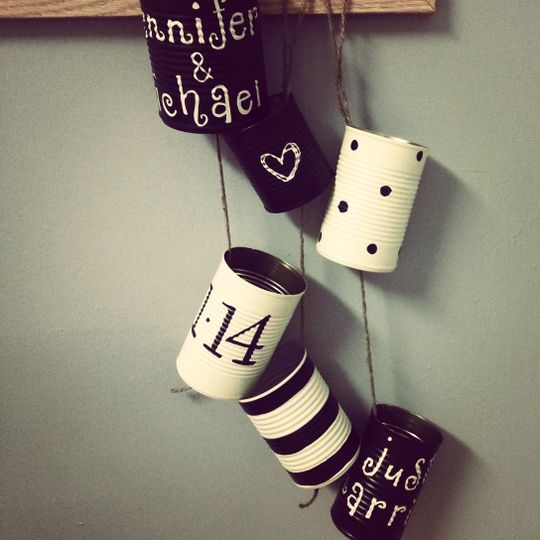 Tin Cans  www.frecklesandwhiskers.etsy.com