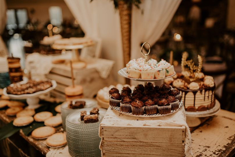 Sweets and Cake Display