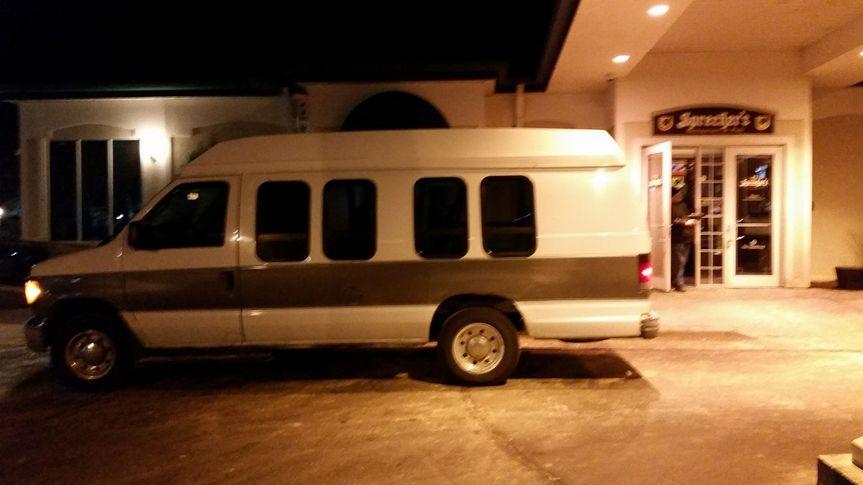 (11) Passenger High Top van