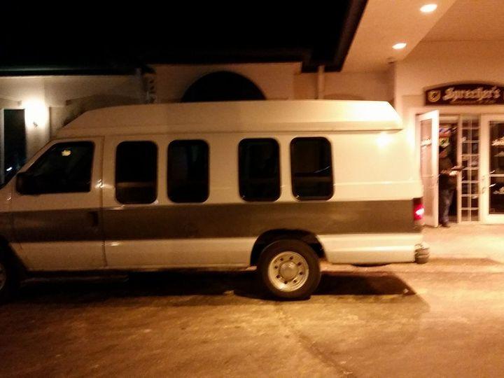 Tmx 11 Passenger High Top Van 51 181623 V1 Lake Geneva wedding transportation