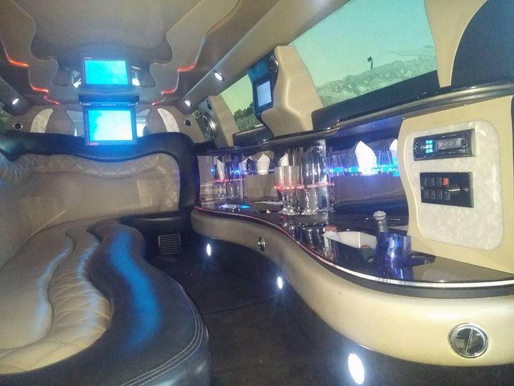 Tmx Inside Stretch Limousine 51 181623 V1 Lake Geneva wedding transportation
