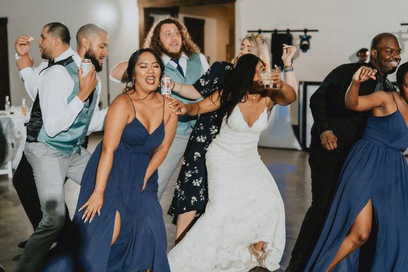 Savannah Ga DJs-Bride Dancing