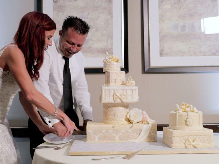 Tmx Zpro Films Bella Donna Chapel Mckinney Wedding Reception Bride Groom Cake Cutting 51 1024623 158010709251058 Allen, TX wedding videography