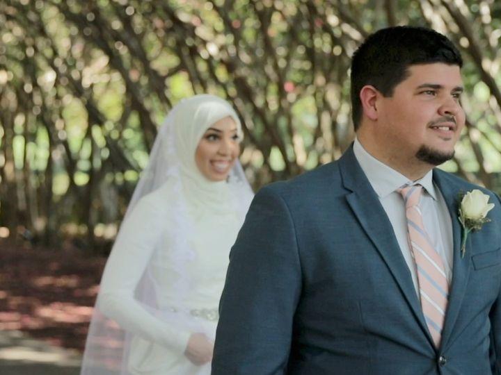 Tmx Zpro Films Dallas Arboretum Bride Groom Wedding Hijab First Look 4 51 1024623 158010691637692 Allen, TX wedding videography