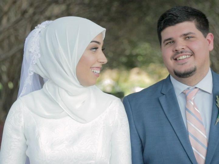 Tmx Zpro Films Dallas Arboretum Bride Groom Wedding Hijab First Look 51 1024623 158010687665980 Allen, TX wedding videography