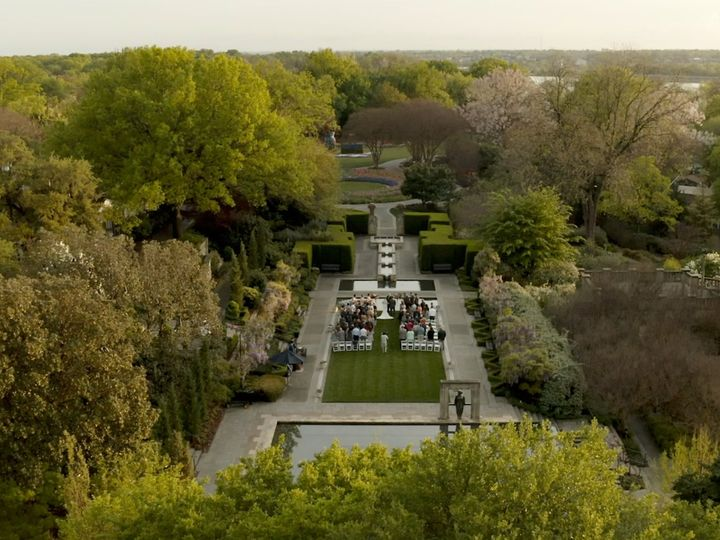 Tmx Zpro Films Dallas Arboretum Ceremony Drone 51 1024623 158010670543467 Allen, TX wedding videography