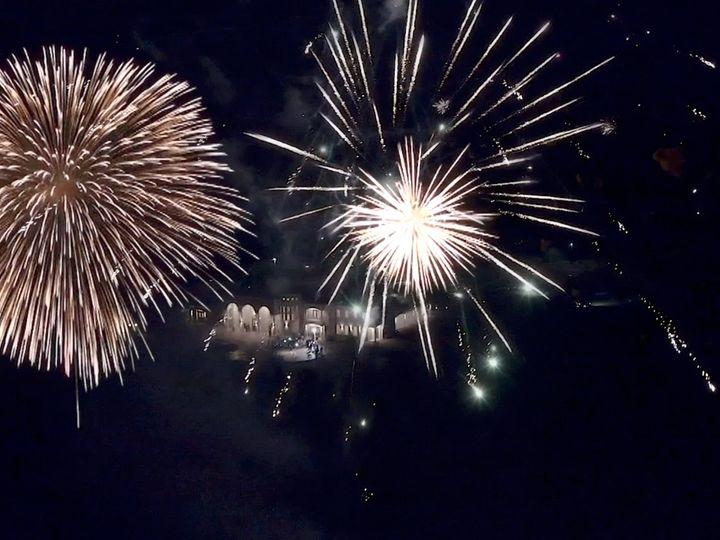 Tmx Zpro Films Dvine Grace Vineyard Bride Groom Fireworks Grand Exit Sendoff 2 51 1024623 158010683263592 Allen, TX wedding videography
