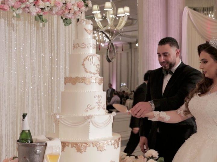 Tmx Zpro Films Renaissance Hotel Dallas Addison Palestinian Couple Muslim Wedding Reception Bride Groom Cake Cutting 51 1024623 158010697125199 Allen, TX wedding videography