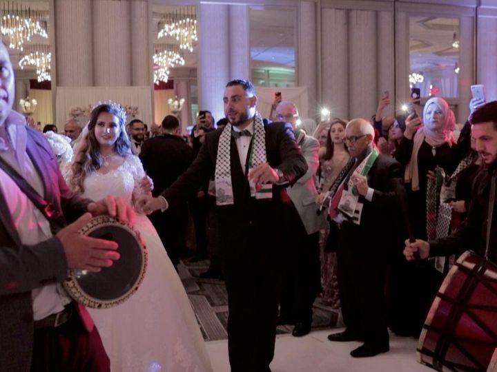 Tmx Zpro Films Renaissance Hotel Dallas Addison Palestinian Couple Muslim Wedding Reception Zaffeh 51 1024623 158010698210595 Allen, TX wedding videography
