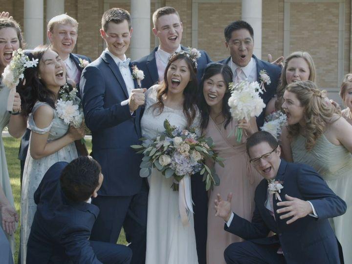 Tmx Zpro Films Robert Carr Chapel Tcu Bride Groom Bridal Party Having Fun Portraits 51 1024623 158010701672349 Allen, TX wedding videography