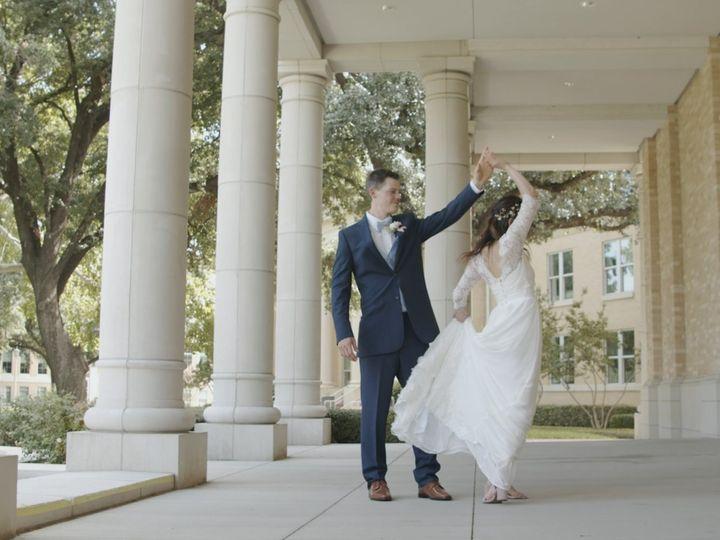 Tmx Zpro Films Robert Carr Chapel Tcu Bride Groom First Look 4 51 1024623 158010701765606 Allen, TX wedding videography