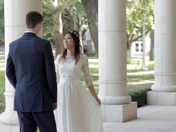 Tmx Zpro Films Robert Carr Chapel Tcu Bride Groom First Look 51 1024623 158010701225278 Allen, TX wedding videography