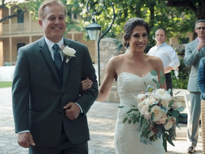 Tmx Zpro Films Southwestern School Of Fine Art Wedding Ceremony Bride Father 51 1024623 158010696134755 Allen, TX wedding videography