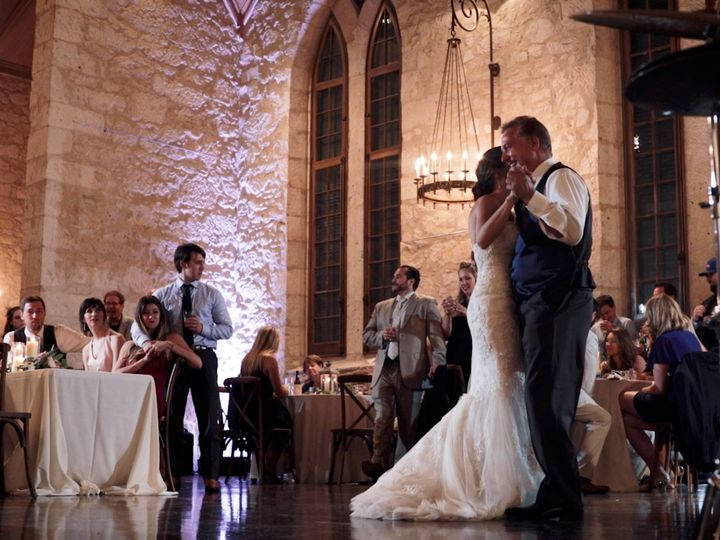 Tmx Zpro Films Southwestern School Of Fine Art Wedding Reception Bride Groom First Dance 51 1024623 158010694681469 Allen, TX wedding videography