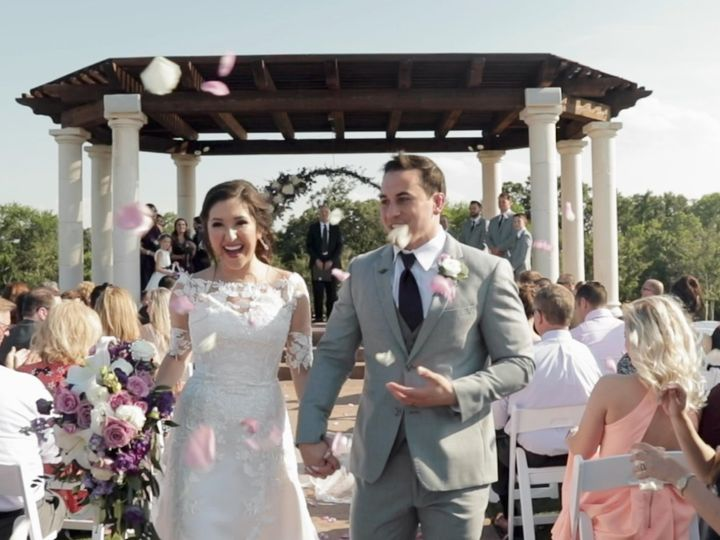 Tmx Zpro Films The Springs Tuscany Bride Groom Just Married 2 51 1024623 158010677597662 Allen, TX wedding videography