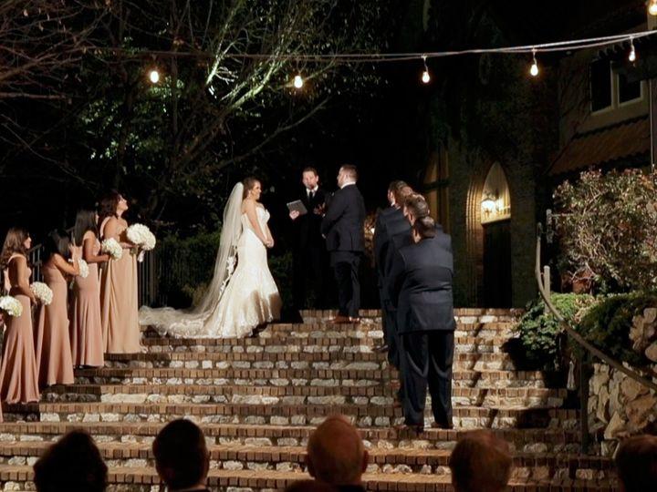 Tmx Zpro Films Walters Wedding Estates Aristide Mansfield Bride Groom Outdoor Evening Wedding Ceremony 51 1024623 158010687580388 Allen, TX wedding videography