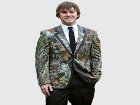 Perfect for the outdoorsman in your life, Christine's Bridal, Prom & Tux is happy to offer the Mossy...