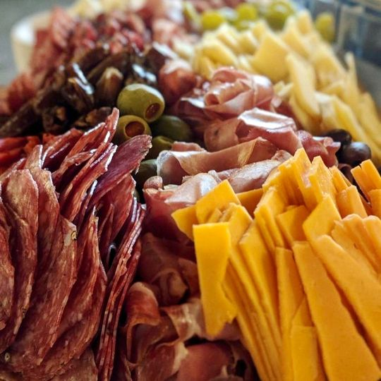 Delectable charcuterie