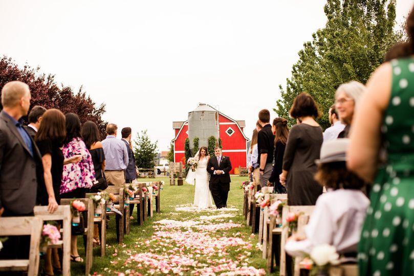 Ceremony Garden Jessica Lauren