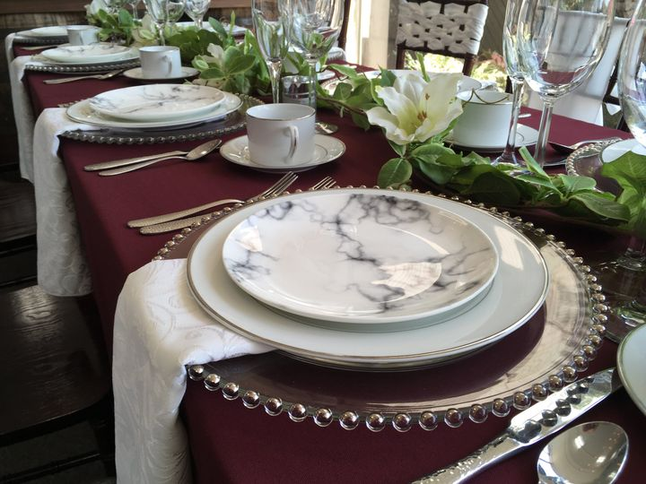 Tmx Burgandy 7 51 115623 Akron, OH wedding rental