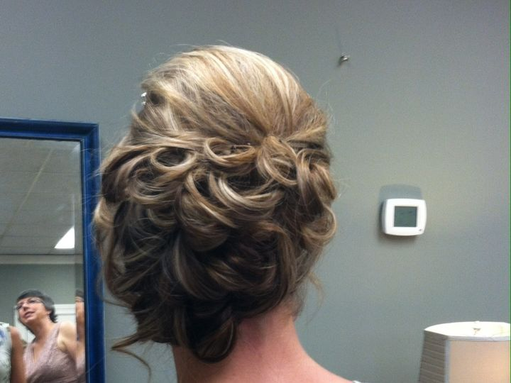 Tmx 1423499982719 Updo1 Greensboro wedding beauty