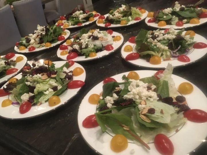 Vibrant salads
