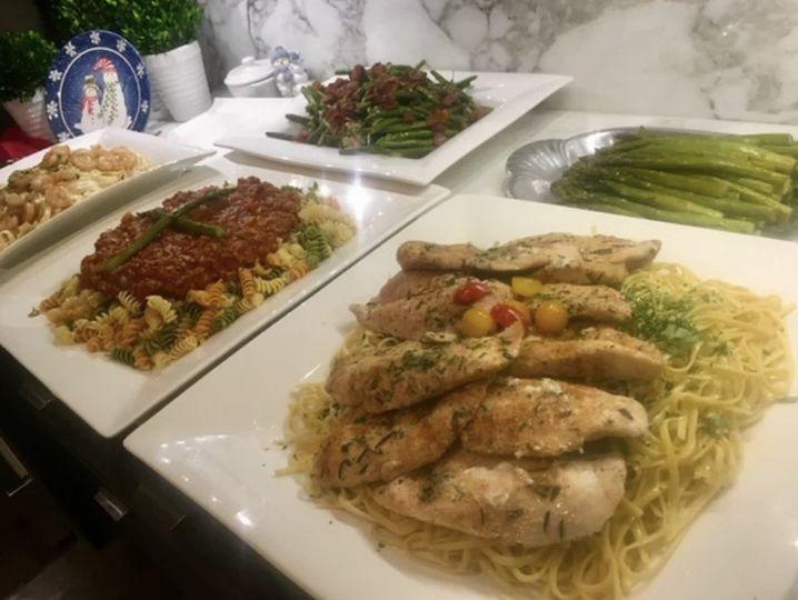 Delicious cuisine choices