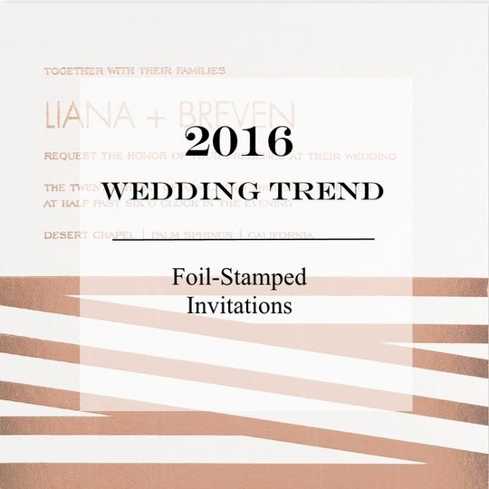 At Senapa Cards, we stay abreast of trends in wedding stationery.