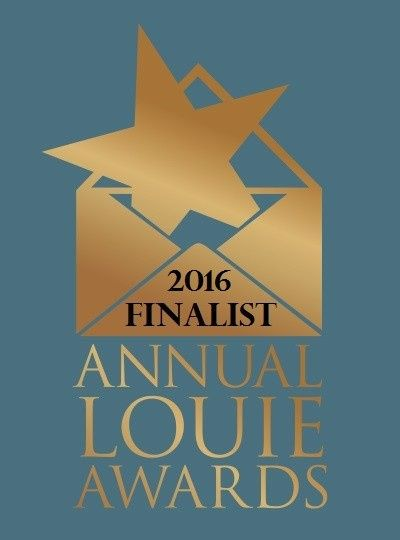 Our gorgeous Picking Posies design impressed judges at the 27th annual Louie Awards