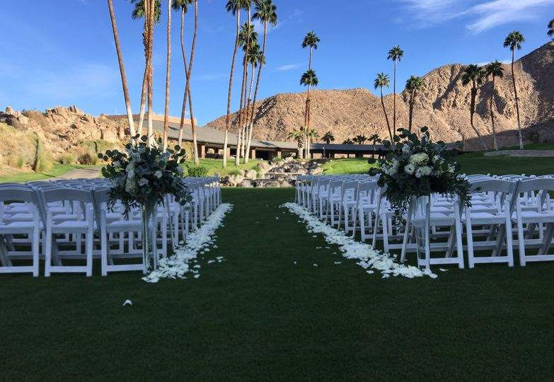 18th Green Wedding Ceremony
