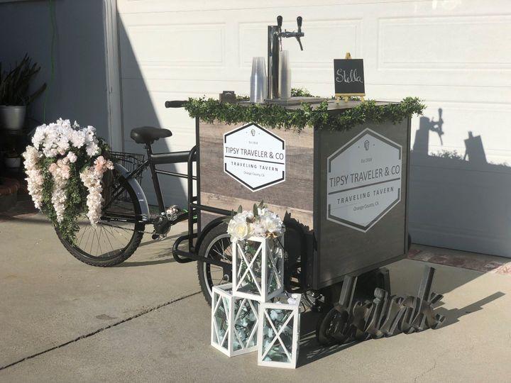 Beverage Bike for a wedding