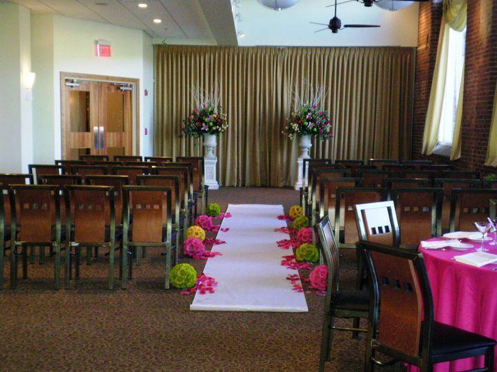 Spring indoor ceremony