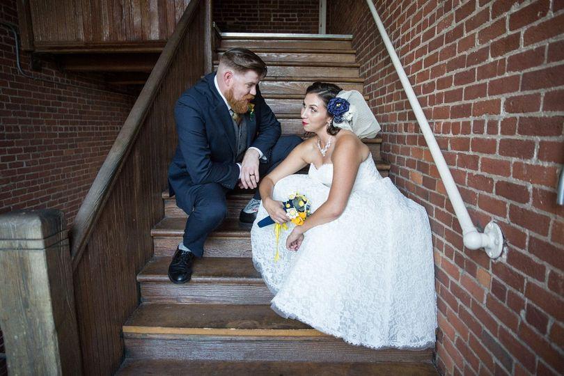 Couple Staircase