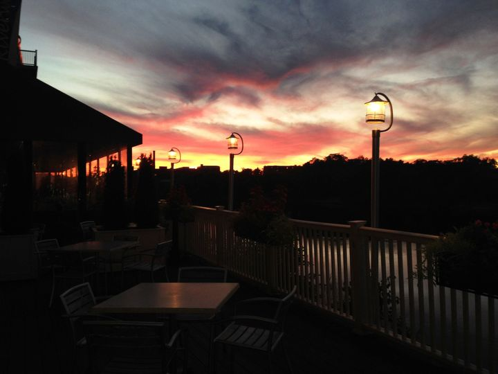 Tmx 1414168954360 Fall Sunset Lawrence, MA wedding venue