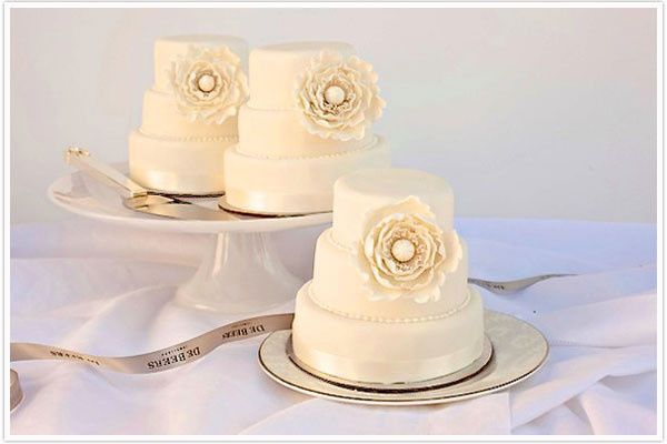 Tmx 1423008234095 Debeersminiweddingcakes Brooklyn wedding cake