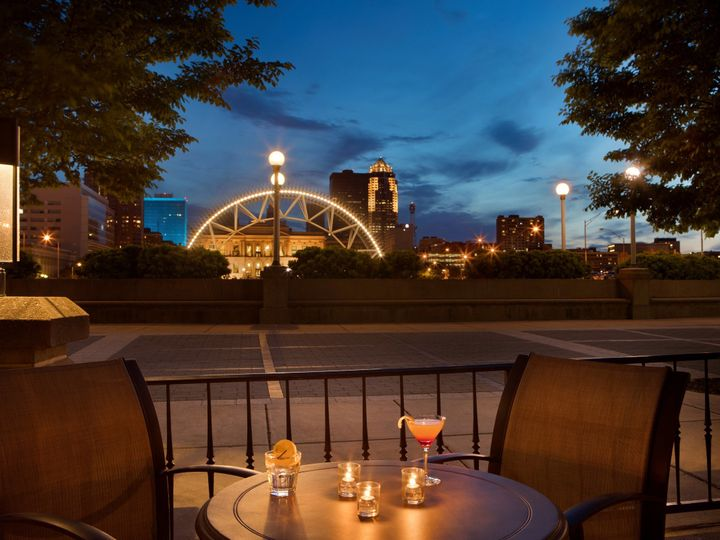 Tmx 1495297667718 Riverview Patio June 2016 Des Moines, IA wedding venue