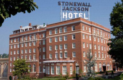 The Stonewall Jackson building