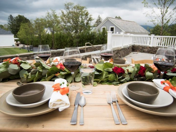 Tmx 1472821092577 Detailkingstableterrace Manchester, Vermont wedding venue