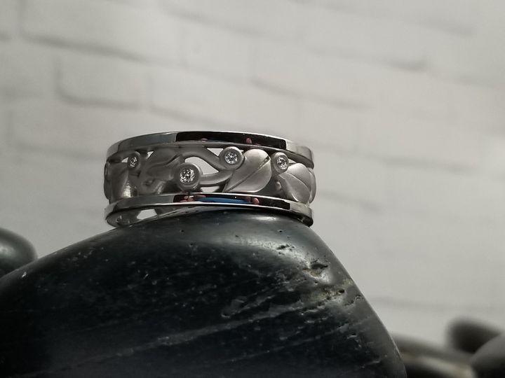 Aspen Leaf Inspired Ring