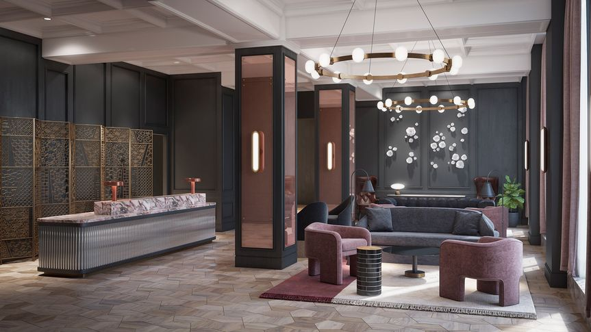 The Candler Grand Lobby
