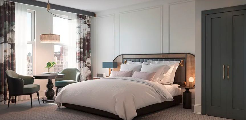 The Candler King Guestroom