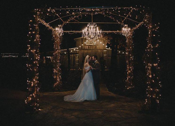 Warm fairy lights