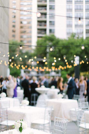 Garden reception | Photo Credit: Tim Tab Studios